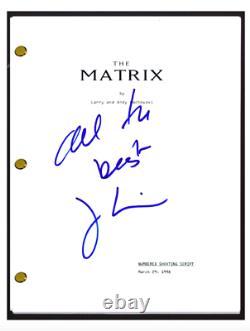 Joel Silver Signed Autographed THE MATRIX Movie Script Film Producer COA