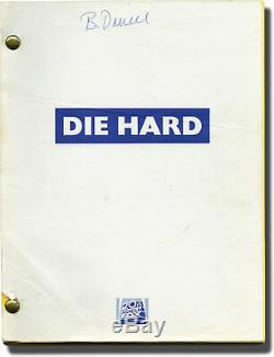 John McTiernan DIE HARD Original screenplay for the 1988 film 1987 #138411