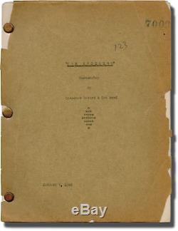 John Wayne SPOILERS Original screenplay for the 1942 film Marion #123771