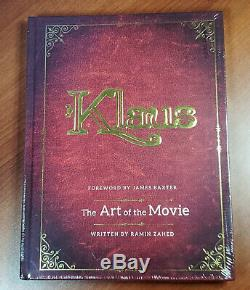 KLAUS 2019 FYC Promo ART OF THE MOVIE Hardcover Book Ramin Zahed NEWithSEALED
