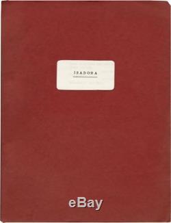 Karel Reisz ISADORA Original screenplay for the 1968 film #133023
