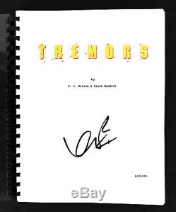 Kevin Bacon Authentic Signed Tremors Movie Script Autographed BAS #H13923