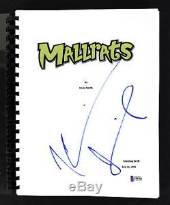Kevin Smith Authentic Signed Mallrats Movie Script Autographed BAS #F99363