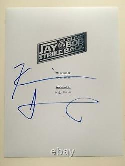 Kevin Smith Signed Jay and Silent Bob Strike Back Movie Full Script Screenplay