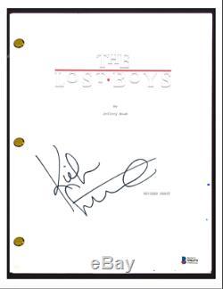 Kiefer Sutherland Signed Autograph THE LOST BOYS Movie Script Screenplay BAS COA