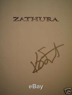 Kristen Stewart SIGNED HC Zathura Movie Book Twilight