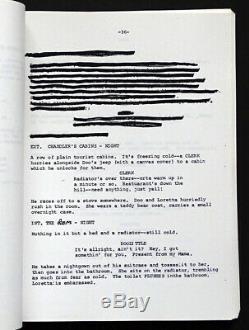 LORETTA LYNN Signed Autograph on COAL MINER'S DAUGHTER Draft MOVIE SCRIPT Book