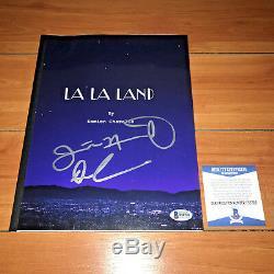 La La Land Signed Movie Script By Damien Chazelle Justin Hurtwitz Beckett Coa