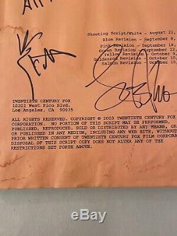 Lance Armstrong Ben Stiller Signed Autograph DODGEBALL Movie Script Livestrong