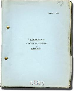 Leo McCarey WILD COMPANY ROADHOUSE Original screenplay for the 1930 film #117140