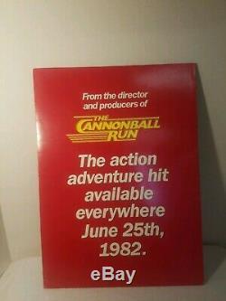 MEGAFORCE The Movie 1982 Press Book