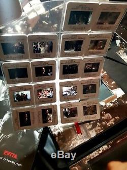 Madonna Evita Movie Promo Box Signed By Alan Parker Set Oscar CD Book Press Reel