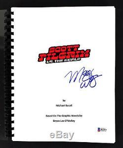 Mary Elizabeth Winstead Signed Scott Pilgrim vs World Movie Script BAS #H66371