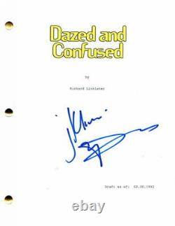 Matthew Mcconaughey Signed Autograph Dazed And Confused Full Movie Script Stud