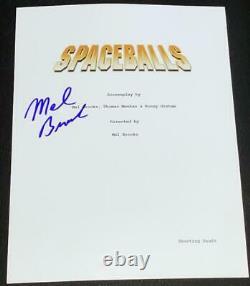 Mel Brooks Signed Autograph Spaceballs Complete Full Movie Script With Coa