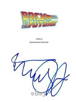 Michael J. Fox Signed Autographed BACK TO THE FUTURE Movie Script COA