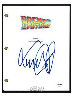 Michael J. Fox Signed Autographed BACK TO THE FUTURE Movie Script PSA/DNA COA