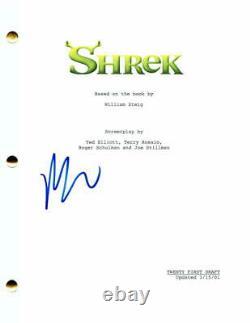 Mike Myers Signed Autograph Shrek Full Movie Script Austin Powers, Very Rare