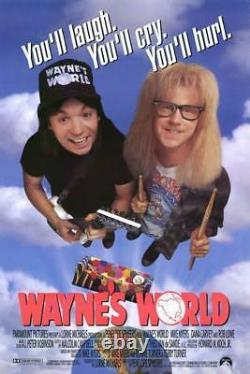 Mike Myers Signed Wayne's World Full Movie Script (JSA COA) SNL Cast Member