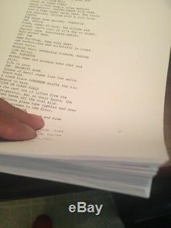 Milla Jovovich Signed Resident Evil Full Movie Script Autograph Beckett BAS COA