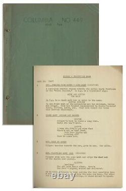 Moe Howard Script for The Three Stooges 1939 Film