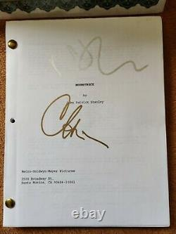 Moonstruck Original Script/screenplay signed N. Cage/Cher. Authenticated