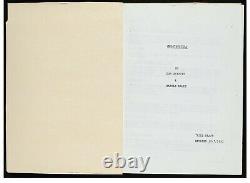 Movie Screenplay Ghostbusters 1983 3rd Revised Script Bill Murray Dan Aykroyd