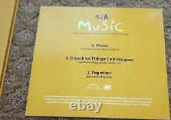 Music A Film By Sia Hand Signed Promo Screenplay Fyc + CD Soundtrack