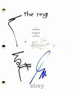 Naomi Watts, Gore Verbinski, Hans Zimmer Signed Autograph The Ring Movie Script