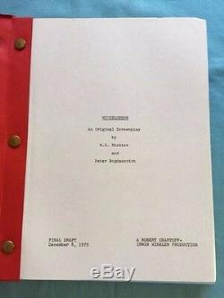 Nickelodeon Film Script By Peter Bogdanovich