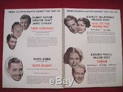 ORIGINAL 1937-1938 MGM STUDIO CAMPAIGN BOOK Advance Movie Publicity RARE