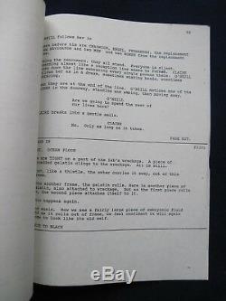 ORIGINAL ROGER CORMAN Film Script LORDS OF THE DEEP BRADFORD DILLMAN'S Copy