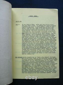 ORIGINAL STORY IDEA TYPESCRIPT for ATTACK OF THE 50 FOOT WOMAN Classic B-Movie