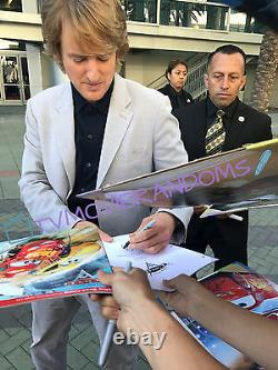 OWEN WILSON SIGNED CARS 2 FULL 135 PAGE MOVIE SCRIPT with PROOF BECKET BAS COA