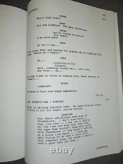 Office Space Movie Shooting Script Original Studio Issue 1998