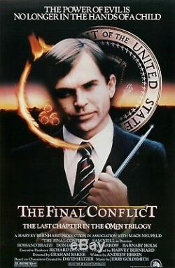 Omen III The Final Conflict / Andrew Birkin Movie Script Screenplay Horror Film