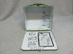 Original 1966 TARZAN Movie Tv & Comic Book LUNCHBOX Condition #8++