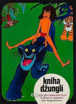 Original Czech, The Jungle Book Film/Movie Poster, Disney