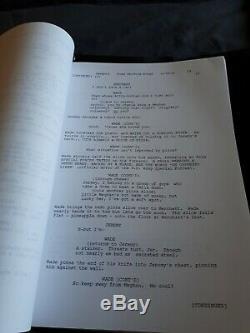 Original Deadpool Scripts Signed By Stan Lee And Ryan Reynolds