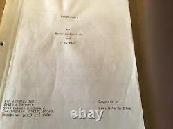 Original Dirty Harry movie script