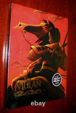 Original Disney Edition Deluxe (Film) 1998 The Art of Mulan BOOK Hardcover