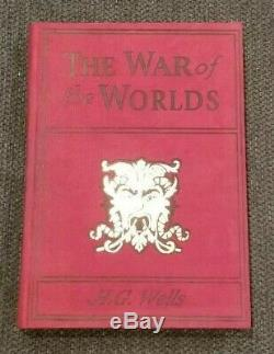 Original Screen Used Movie Prop Book The War Of The Worlds from Peter Pan 2003