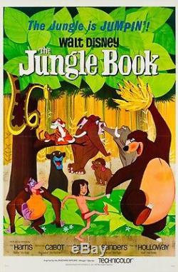 Original The Jungle Book US 1 sheet, Film/Movie Poster 1967