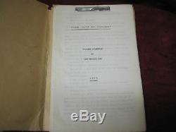 Original Unproduced Hernando Cortes Film Script 1954