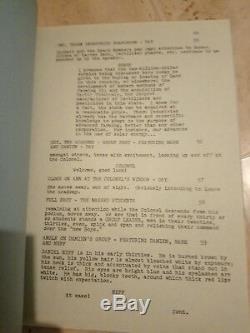 Original horror movie script exorcist 2 the heretic