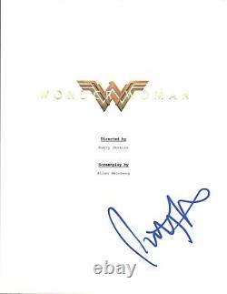 Patty Jenkins Signed Autographed WONDER WOMAN Director Movie Script COA