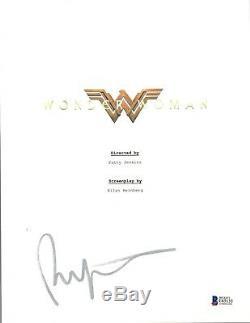 Patty Jenkins Signed Autographed WONDER WOMAN Movie Script Beckett BAS COA