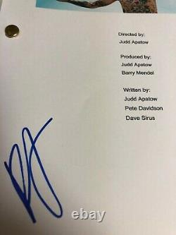 Pete Davidson Signed Autographed The King Of Staten Island Full Movie Script