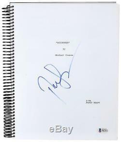 Pierce Brosnan James Bond Movie Script Beckett Authentication COA
