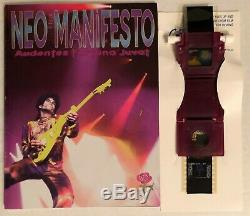 Prince Neo Manifesto Book & Rare Film Slide Viewer